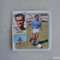 Cromos de Fútbol: CROMO FUTBOL HERRERA REAL C CELTA DE VIGO BAJA LIGA 89/90 EDICIONES ESTE. Lote 94515150