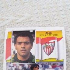 Cromos de Fútbol: 90/91 ESTE. NUNCA PEGADO BAJA SEVILLA ALEX. Lote 94590711