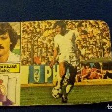Cromos de Fútbol: 82/83 ESTE. NUNCA PEGADO REAL MADRID GARCÍA NAVAJAS. LEER. Lote 94598911
