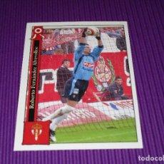 Cromos de Fútbol: ROBERTO - 848 - REAL SPORTING DE GIJON - LAS FICHAS LIGA 2005-2006 (05/06) - MUNDICROMO. Lote 94643283