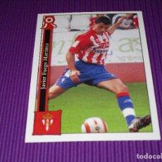 Cromos de Fútbol: JAVI FUEGO - 858 - REAL SPORTING DE GIJON - LAS FICHAS LIGA 2005-2006 (05/06) - MUNDICROMO. Lote 94643395