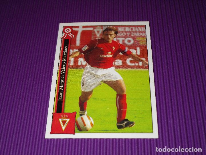 JUANMA - 869 - REAL MURCIA C.F. - LAS FICHAS LIGA 2005-2006 (05/06) - MUNDICROMO (Coleccionismo Deportivo - Álbumes y Cromos de Deportes - Cromos de Fútbol)