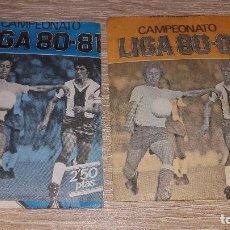 Cromos de Fútbol: SOBRE SIN ABRIR - 1980 / 1981 80 / 81 EDICIONES ESTE - 1 AZUL Y 1 NARANJA SOBRES . NUEVOS . Lote 94685811