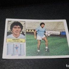 Cromos de Fútbol: CROMO ESTE 82 83 - ANDRES , DEL CELTA -NUNCA PEGADO ( PEDIDO MINIMO 5 EUROS ). Lote 94693823