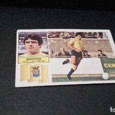 Cromos de Fútbol: CROMO ESTE 82 83 - MARRERO , DE LAS PALMAS -NUNCA PEGADO ( PEDIDO MINIMO 5 EUROS ). Lote 94750767