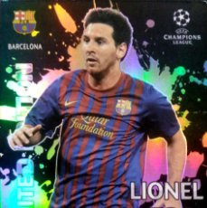 Cromos de Fútbol: LIONEL MESSI - F.C. BARCELONA - PANINI ADRENALYN CHAMPIONS 2011 2012 11 12 - LIMITED EDITION. Lote 94816599