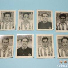 Cromos de Fútbol: 7 FOTO-CROMOS FUTBOL DEL ALBUM REAL SOCIEDAD LIGA TEMPORADA 1946 - 1947 DE GRAFICAS SIERRA. Lote 117273779