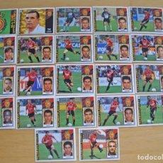 Cromos de Fútbol: ED.ESTE 97-98 EQUIPO COMPLETO DEL MALLORCA (TODO LO EDITADO). Lote 94964019