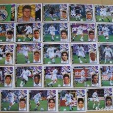 Cromos de Fútbol: ED.ESTE 97-98 EQUIPO COMPLETO DEL R MADRID (TODO LO EDITADO). Lote 94964059