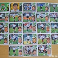 Cromos de Fútbol: ED.ESTE 97-98 EQUIPO COMPLETO DEL RACING (TODO LO EDITADO). Lote 94964139