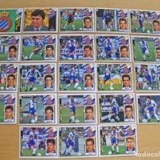 Cromos de Fútbol: ED.ESTE 97-98 EQUIPO COMPLETO DEL ESPAÑOL (TODO LO EDITADO). Lote 94964191