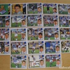 Cromos de Fútbol: ED.ESTE 97-98 EQUIPO COMPLETO DEL R. SOCIEDAD (TODO LO EDITADO). Lote 94964207
