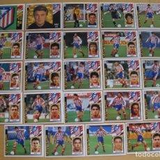 Cromos de Fútbol: ED.ESTE 97-98 EQUIPO COMPLETO DEL AT MADRID (TODO LO EDITADO). Lote 94964251