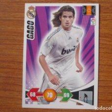 Cromos de Fútbol: ADRENALYN XL 2009 2010 PANINI Nº 137 GAGO (REAL MADRID) - CROMO LIGA 09 10. Lote 118641188