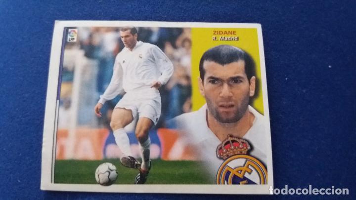 02/03 ESTE. NUNCA PEGADO REAL MADRID ZIDANE (Coleccionismo Deportivo - Álbumes y Cromos de Deportes - Cromos de Fútbol)