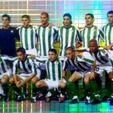 Cromos de Fútbol: 701 PLANTILLA ALINEACIÓN - REAL BETIS B. - MUNDICROMO MC FICHAS LIGA 2003 2004 03 04. Lote 95202311