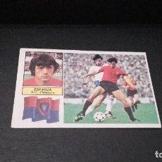 Cromos de Fútbol: CROMO ESTE 82 83 - ESPARZA , DEL OSASUNA - NUNCA PEGADO ( PEDIDO MINIMO 5 EUROS ). Lote 95209999