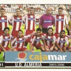 Cromos de Fútbol: 2005-2006 - 901 PLANTILLA - UD ALMERIA - MUNDICROMO LAS FICHAS DE LA LIGA. Lote 95276235