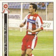 Cromos de Fútbol: 2005-2006 - 904 BERMUDO - UD ALMERIA - MUNDICROMO LAS FICHAS DE LA LIGA. Lote 95276347