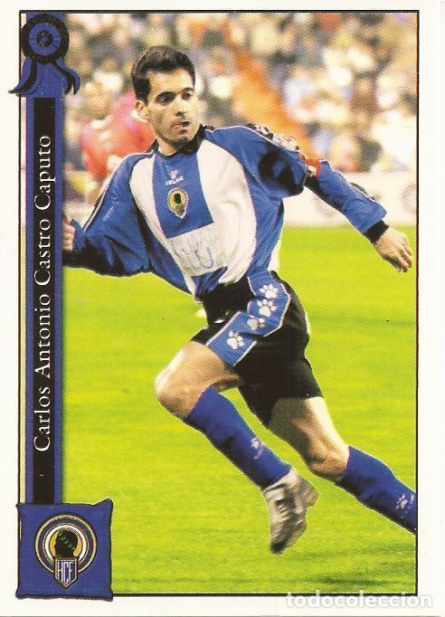 2005-2006 - 1011 CASTRO - HERCULES CF - MUNDICROMO LAS FICHAS DE LA LIGA (Coleccionismo Deportivo - Álbumes y Cromos de Deportes - Cromos de Fútbol)