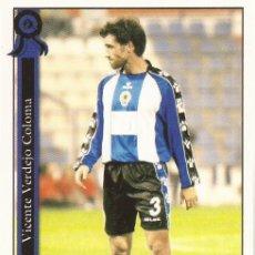 Cromos de Fútbol: 2005-2006 - 1013 VICENTE - HERCULES CF - MUNDICROMO LAS FICHAS DE LA LIGA. Lote 95276871