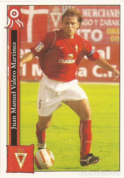 2005-2006 - 869 JUANMA - REAL MURCIA - MUNDICROMO LAS FICHAS DE LA LIGA (Coleccionismo Deportivo - Álbumes y Cromos de Deportes - Cromos de Fútbol)
