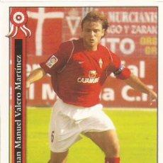 Cromos de Fútbol: 2005-2006 - 869 JUANMA - REAL MURCIA - MUNDICROMO LAS FICHAS DE LA LIGA. Lote 95288915