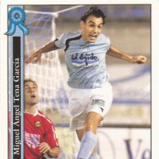 Cromos de Fútbol: 2005-2006 - 890 TENA - POLIDEPORTIVO EJIDO - MUNDICROMO LAS FICHAS DE LA LIGA. Lote 95291507