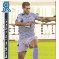 Cromos de Fútbol: 2005-2006 - 893 JUANMA - POLIDEPORTIVO EJIDO - MUNDICROMO LAS FICHAS DE LA LIGA. Lote 95291823