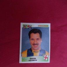 Cromos de Fútbol: DAVID SEAMAN. ENGLAND. CROMO Nº 37. EUROPA. EUROPE '96. 1996. PANINI. NUNCA PEGADO.. Lote 257573900