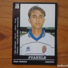 Cromos de Fútbol: CROMO PANINI LIGA FUTBOL 2000 2001 Nº 65 JUANELE (ZARAGOZA) - SIN PEGAR - 00 01 . Lote 95428123