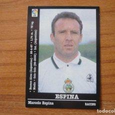 Cromos de Fútbol: CROMO PANINI LIGA FUTBOL 2000 2001 Nº 246 ESPINA (RACING SANTANDER) - SIN PEGAR - 00 01 . Lote 95431359