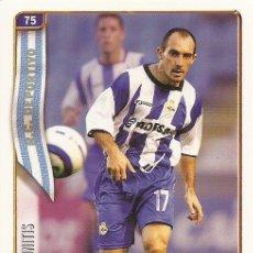 Cromos de Fútbol: 2004-2005 - 75 MUNITIS - DEPORTIVO DE LA CORUÑA - MUNDICROMO LAS FICHAS DE LA LIGA. Lote 115398310