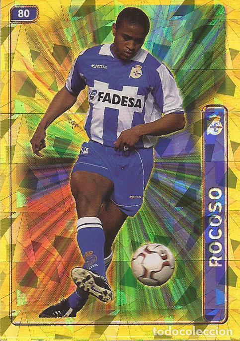 2004-2005 - 80 ANDRADE (BRILLO TRIANGUL) - DEPORTIVO DE LA CORUÑA - MUNDICROMO LAS FICHAS DE LA LIGA (Coleccionismo Deportivo - Álbumes y Cromos de Deportes - Cromos de Fútbol)