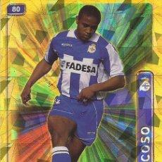 Cromos de Fútbol: 2004-2005 - 80 ANDRADE (BRILLO TRIANGUL) - DEPORTIVO DE LA CORUÑA - MUNDICROMO LAS FICHAS DE LA LIGA. Lote 95462755