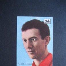 Cromos de Fútbol: CROMO : CHISLENKO - RUSIA - LONDRES 1966 - CAMPEONATO MUNDIAL DE FUTBOL - CHOCOLATES LA CIBELES. Lote 95712123