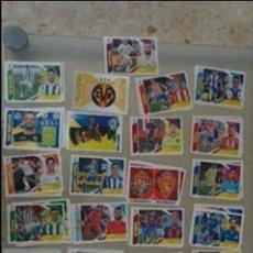 Cromos de Fútbol: LOTE DE FÚTBOL:300 CROMOS DIFERENTES DE TODAS LAS SECCIONES,(SIN PEGAR),LIGA ESTE 2017-2018/17-18. Lote 95712447