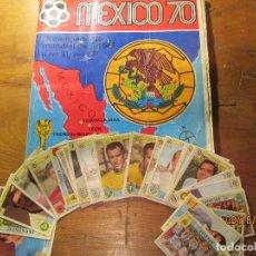 Cromos de Fútbol: CROMOS ALBUM PANINI MEXICO 1970. Lote 95715967