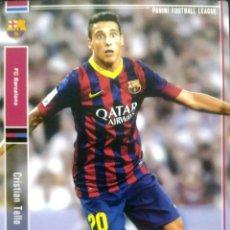 Cromos de Fútbol: PFL05 045/168 CRISTIAN TELLO - F.C. BARCELONA - PANINI FOOTBALL LEAGUE 2014 - JAPON. Lote 95733699