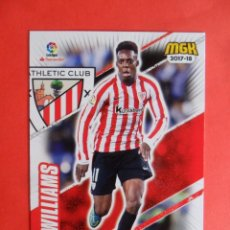 Cromos de Fútbol: MEGACRACKS 2017 2018 - 43 WILLIAMS - ATHLETIC CLUB DE BILBAO - PANINI - MGK 17 18. Lote 95956499
