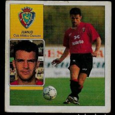 Cromos de Fútbol: COLOCA - JUANJO - OSASUNA - EDICIONES ESTE - 1992 1993 92 93 - CROMO FUTBOL SIN PEGAR NUNCA PEGADO. Lote 95814171
