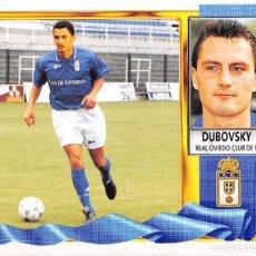 Figurine di Calcio: EDICIONES ESTE 95/96 1995/1996 - COLOCA DUBOVSKY (REAL OVIEDO) SIN PEGAR. Lote 95838947