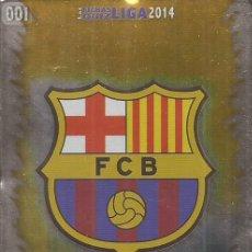 Cromos de Fútbol: 2013-2014 - 1 ESCUDO - FC BARCELONA - MUNDICROMO OFFICIAL QUIZ GAME. Lote 148833414