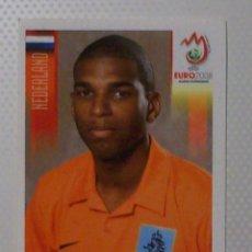 Cromos de Fútbol: 272 - RYAN BABEL (HOLANDA) CROMOS PANINI EURO 2008 AUSTRIA - SUIZA. Lote 95910195
