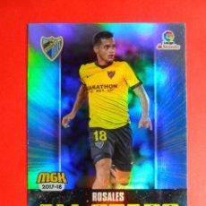 Cromos de Fútbol: MEGACRACKS 2017 2018 - 430 ROSALES - ALL STARS - MALAGA C.F. - PANINI - MGK 17 18. Lote 101197826