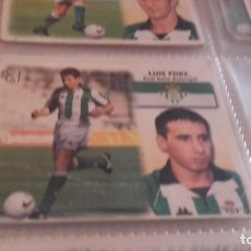 Cromos de Fútbol: ESTE 99 00 - LUIS FERNÁNDEZ , DEL BETIS - NUNCA PEGADO - ( PEDIDO MINIMO 5 EUROS ). Lote 95939539
