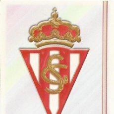 Cromos de Fútbol: 2006-2007 - 558 ESCUDO - SPORTING DE GIJON - MUNDICROMO LAS FICHAS DE LA LIGA. Lote 95949155