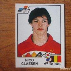 Cromos de Fútbol: CROMO ALBUM PANINI EURO 84 FRANCIA Nº 102 NICO CLAESEN (BELGICA) NUNCA PEGADO - EUROCOPA 1984 FRANCE. Lote 95949211