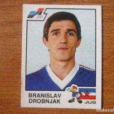 Cromos de Fútbol: CROMO ALBUM PANINI EURO 84 FRANCIA Nº 115 DROBNJAK (YUGOSLAVIA) NUNCA PEGADO - EUROCOPA 1984 FRANCE. Lote 95949567