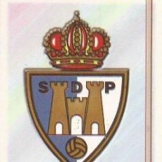 Cromos de Fútbol: 2006-2007 - 571 ESCUDO - SD PONFERRADINA - MUNDICROMO LAS FICHAS DE LA LIGA. Lote 95949703